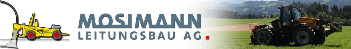 Mosimann Leitungsbau AG, Gauchern, 3538 Röthenbach   Tel: 034 491 14 27  Fax: 034 491 22 02